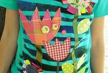 Detská hand made móda / Všetko okolo dekorovania detských tričiek, nášiviek a iných vecí pre deti