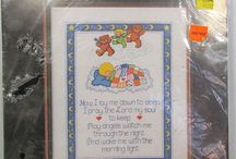 Cross Stitch & Embroidery Designs & Kits / Instruction Booklets, Kits & Finished Embroidery Projects