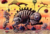 Surrealism/Pop surrealism/Lowbrow Art