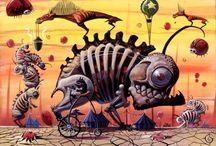 Surrealism/Pop surrealism/Lowbrow Art