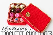 crochet choco lat box