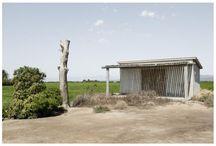 Casas de labranza en el Delta del Ebro.Tarragona