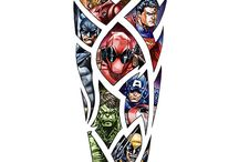 Marvel Tattoo