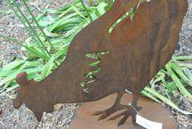 Rusty Sculptures