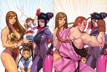 World Warriors II Turbo Championship Edition EX3 / Everything Street Fighter, from the strongest women in the world to the martial arts dudes that make our crazy non-stop fighting world go round - and round 2 - and final round.