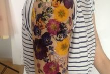 Flower Tattoos / Inspiration: Making tattoos from real dried flowers
