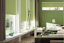 Chambre amis vert olive