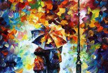 paintings, photos