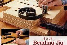 wood steel bender