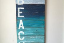 Beach house decor and ideas