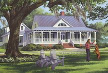 Dream Home / House plans / by Mandy Deming