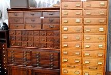 Apothecary desks and ideas