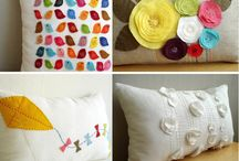 Cushions and pillows / Different colours, fabric and of course squishyness