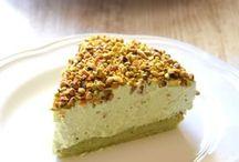 gâteaux nuages pistaches