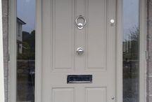 Entrances/front doors