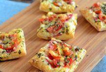 minipizza met bladerdeeg