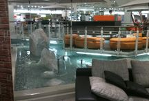 Indoor water landscapes / Indoor water landscapes, modern living, architecture