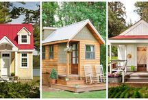 Tiny Houses / The growing movement in tiny houses is becoming huge. Here's some ideas for very tiny, but very beautiful small homes.
