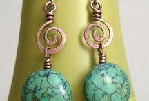 orecchini wire copper