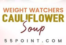Cauliflower weight watchers soup