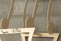 Eiffeltoren blad / Ideeën voor eiffeltoren