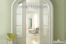 Color Trends 2015 / 2015 is all about greens, blues, blushes & berries. The color of the year is Guilford Green HC-116.
