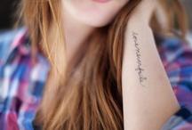 tattoos / by Carolyn Egerszegi