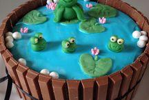 kage til sommerfest i vuggestuen