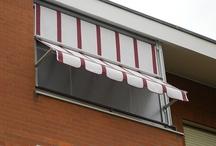 Tenda veranda con frangivento sul telo estivo / Tenda veranda con frangivento sul telo estivo www.mftendedasoletorino.it M.F. Tende e tendaggi Via Magenta 61 10128 Torino  Tel.:01119714234 Fax:01119791445  Cell.:3924999999
