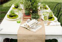 Herbal weddings I love!
