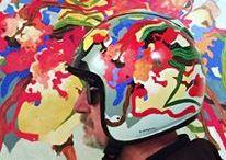 Autoportrait de ma créativité / Etre mon propre sujet..