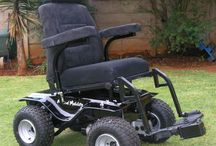 Predator 4 x 4 Power Wheelchair / The mean beast of power 4 x 4 wheelchairs! Yep it is the ALL TERRAIN 4 x 4, 1000-Watt mother of power 4 x 4 wheelchairs. Sand, gravel, hills, grass ... bring it on! Pure brute power waiting to be unleashed. A rugged power wheelchair that allows you to once again enjoy the great outdoors, return to fishing, hunting, farming or just trailing along. You can add many other functions to this chair to suit your needs.
