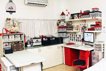 Crafty Spaces / by Scrapality.com