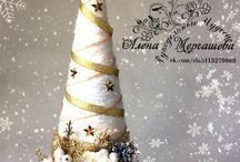 Vánoční výzdoba-Třeboň