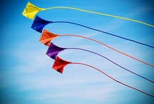 Kites ...high in the sky / by Teresa Primm
