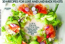 W Taste Christmas Issue 2014 / Recipes for luxe and laid-back feasts