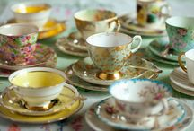 Tea would be lovely. / Tea time.