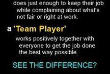 Work-team meetings/motivational/sales