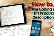 TPT Tips / Tips for the Teacherpreneur