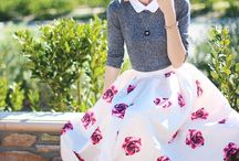 Skirt outfits / Its all about styling the skirt in varied outfits