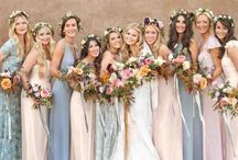 Trend || Mismatch Bridesmaid Dresses