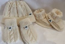 Scottish knitwear / My hand knitted baby clothes