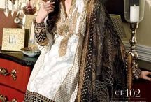 Gul Ahmed Chantilly de Chiffon festive collection /  Gul Ahmed Chantilly de Chiffon festive collection