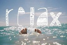 #relaxwithsussan / Things that I relate relaxation with!