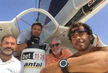 Centomiglia 2015 / Gaetano con bet1128 vince in tempo reale la Centomiglia. In equipaggio Guseppe Pani, Simone Balzano, Gianluca Manca.