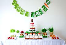 Happy Veggie / Buffet de table végétarien