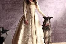 Inspiration :: Film & TV / Mostly costumes from shows, and probably not historically accurate at all.