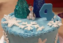 Frozen Cakes / My frozen cake designs / by Frances Gill