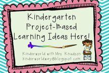 kindergarten - themes general / by Kathy Carroll