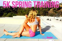 5K SPRING TRAINING / It's a free 10 week training series to get you ready to run a 5k! Sign up for follow along workout videos + recipes for athletes + weekly running schedules => http://bit.ly/1oeMKAY
